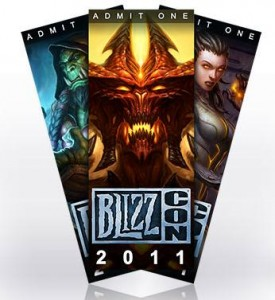 2011 Blizzcon Tickets