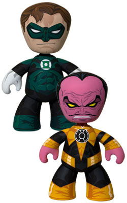 SDCC 2011 Green Lantern Sinestro Exclusive SDCC Mezco Green Lantern Mez Itz Exclusive