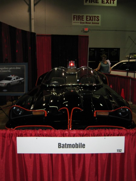 Comic Con Batmobile 2 450x600 2011 Chicago Comic Con Photos