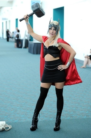 Raychul Moore Thor Cosplay Raychul Moore Guest Interview SDCC