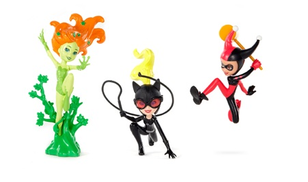 2012 SDCC Exclusive Polly Pocket DC Comics Villains Set 2012 SDCC Mattel Exclusives