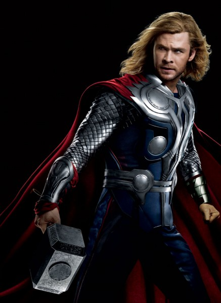 Chris Hemsworth Thor 437x600 Chris Hemsworth, Stan Lee, Lou Ferrigno, Top Artists Have The Avengers Covered at Wizard World Philadelphia Comic Con