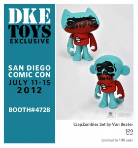 2012 SDCC Exclusive Crap Zombies 280x300 2012 SDCC Exclusives DKE Toys