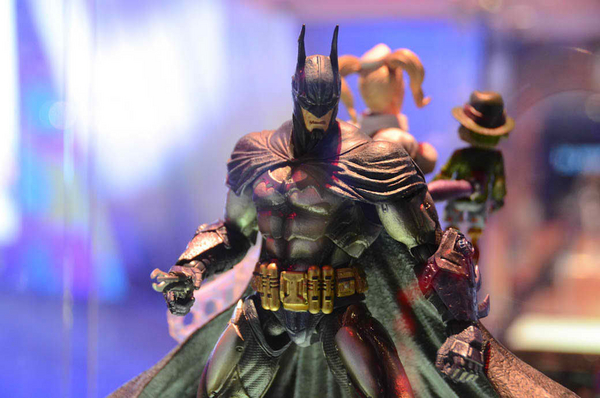 2012 SDCC Exclusive Play Arts Kai Batman Arkham Asylum 1 2012 SDCC Exclusives