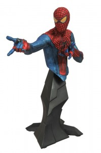 2012 SDCC exclusive Amazing Spider Man Movie Metallic Bust 2012 SDCC Exclusives