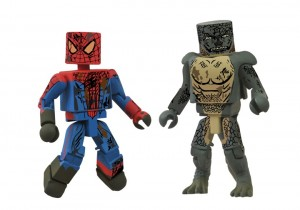 2012 SDCC exclusive Amazing Spider Man Sewer Battle Marvel Minimates 2 Pack 2012 SDCC Exclusives