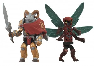 2012 SDCC exclusive Battle Beasts Minimates Vorin and Zik 2 Pack 2012 SDCC Exclusives