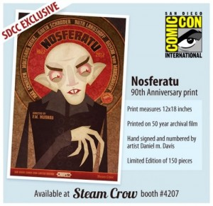 SDCC Exclusive Nosferatu print 2 300x291 2012 SDCC Exclusive: Nosferatu print
