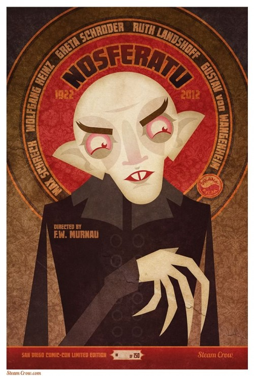 SDCC Exclusive Nosferatu print
