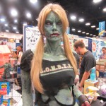 2012 SDCC Comic Con Sexy Zombie Girl 150x150 2012 SDCC Thursday Photos