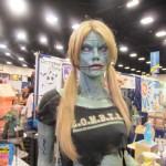 2012 SDCC Comic Con Sexy Zombie Girl 2 150x150 2012 SDCC Thursday Photos