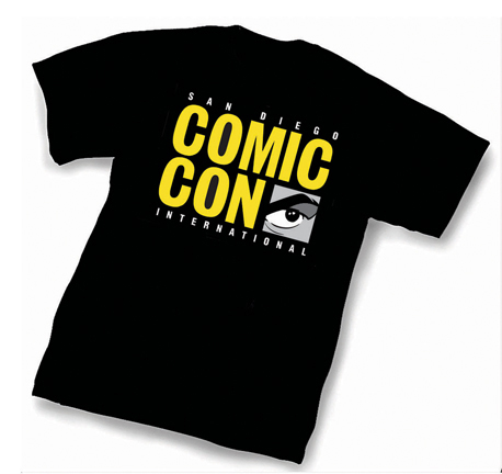 2012 SDCC Tshirt 2012 SDCC Comic Con Exclusive T Shirts Available