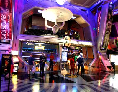Star Trek The Experience Star Trek Las Vegas Convention Recap