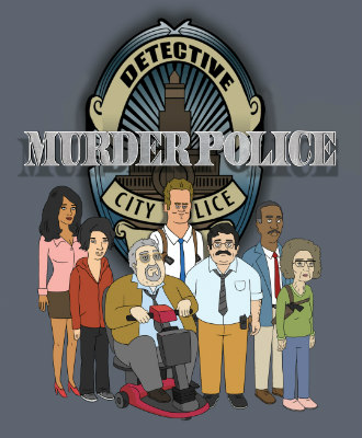 FOX murder police Fox Picks Up 'Murder Police' Animated Series