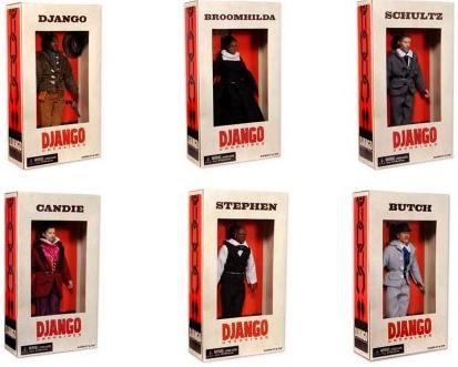 NECA django unchained action figures