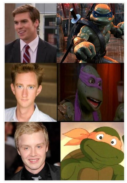 TMNT reboot Actors