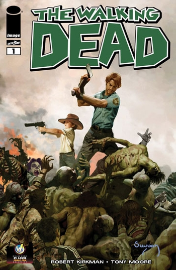 Walking Dead 1 St Louis Comic Con Variant The Walking Dead #1 St. Louis Comic Con Exclusive Variant Comic