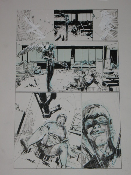 Riley Rossmo Original Art Bedlam 6 (2)