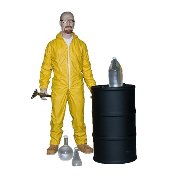 2013 SDCC Exclusive Breaking Bad Walter White Hazmat Suit 2