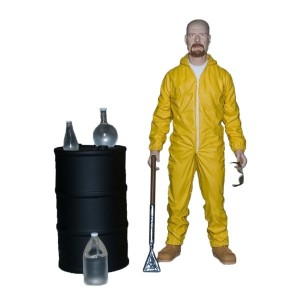 2013 SDCC Exclusive Breaking Bad Walter White Hazmat Suit