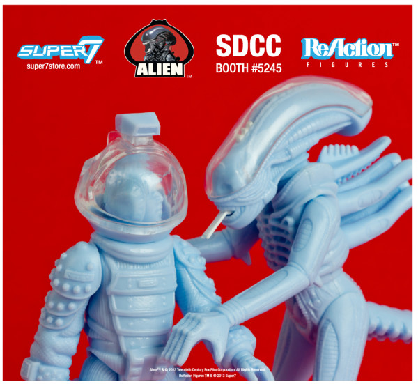 "2013 SDCC Exclusive LIEN REACTION FIGURE 2 PACK ""DISCOVERED SALES SAMPLES"" BIG CHAP & KANE 2"