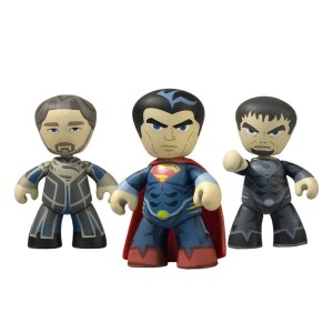 2013 SDCC Exclusive Man Of Steel Mez-Itz Three Pack