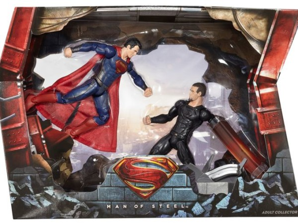 2013 SDCC Exclusive Man of Steel Movie Masters Superman vs. General Zod