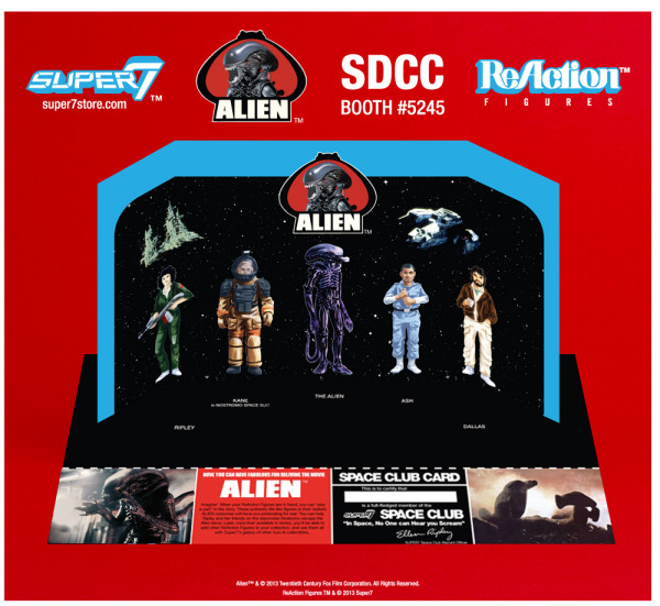 "2013 SDCC Exclusives ALIEN REACTION FIGURE ""EARLY BIRD PACKAGE"""