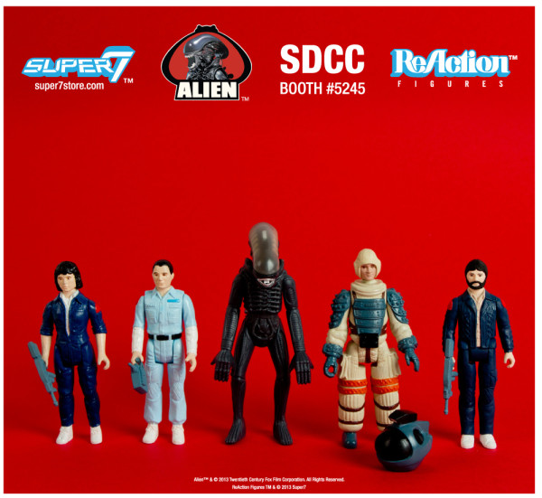 2013 SDCC Exclusives ALIEN REACTION FIGURE EARLY BIRD PACKAGE 2