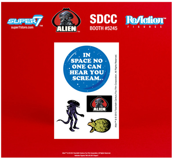 2013 SDCC Exclusives ALIEN REACTION FIGURE EARLY BIRD PACKAGE 3