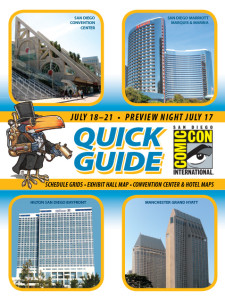 2013 Comic Con SDCC Quick Guide