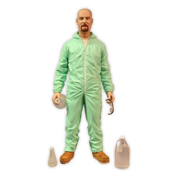 Deluxe Breaking Bad Walter White In Green Hazmat Suit 2