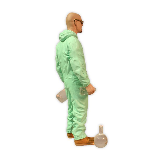 Deluxe Breaking Bad Walter White In Green Hazmat Suit 3
