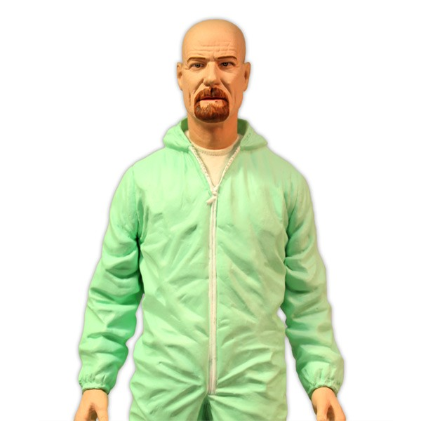 Deluxe Breaking Bad Walter White In Green Hazmat Suit