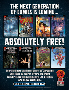 Red Giant Free Comic Book Day 2014