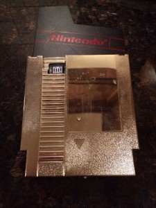 NES Nintendo World Championship GOLD Cart