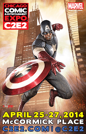 Official 2014 C2E2 Poster Official 2014 C2E2 Poster is Unveiled!
