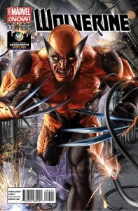 Wolverine #1 Exclusive Variant Cover By Greg Horn