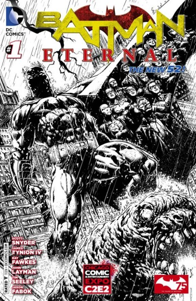 2014 C2E2 DC Exclusive Variant Cover Batman Eternal 1 390x600 2014 C2E2 Exclusive DC Variant Covers