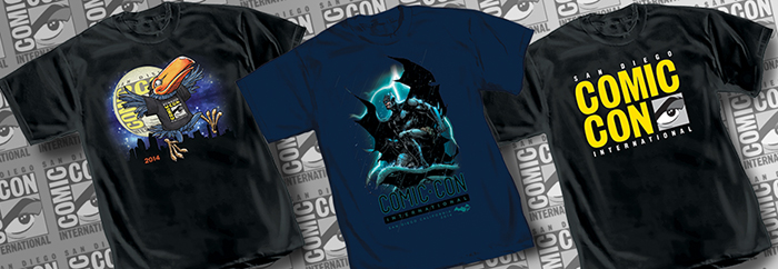 2014 sdcc comic con shirts