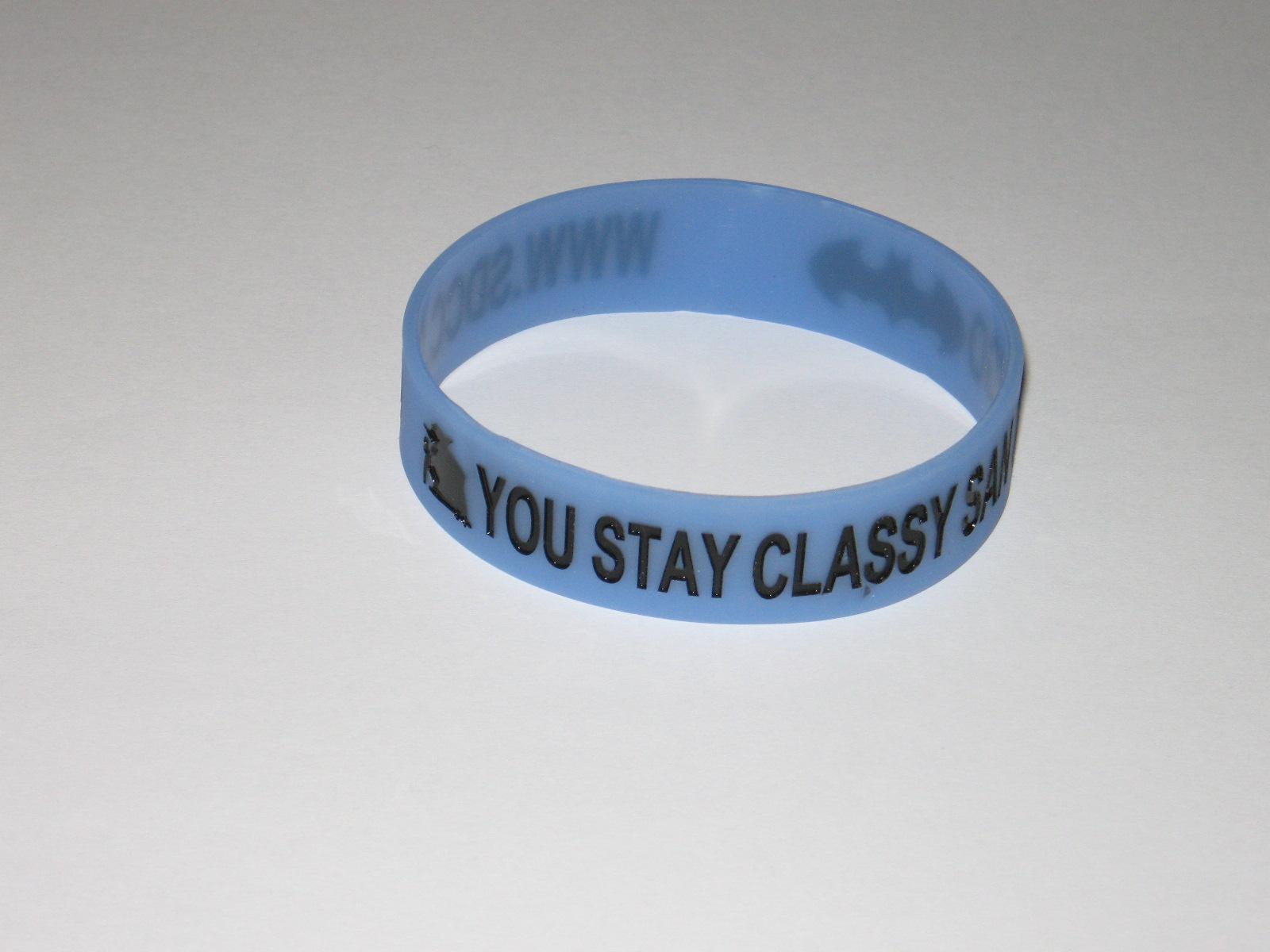 2014 SDCC Comic Con Wristband - Stay Classy San Diego