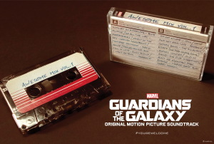 Guardians of the Galaxy Exclusive Audio Cassette