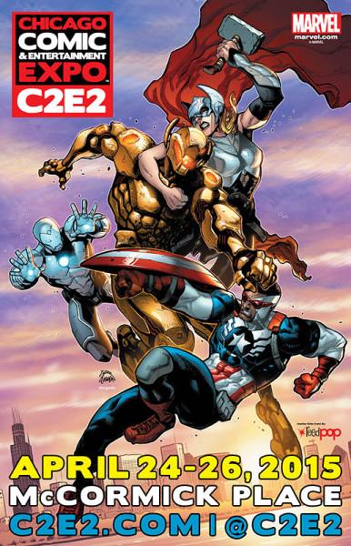 2015 C2E2 Poster