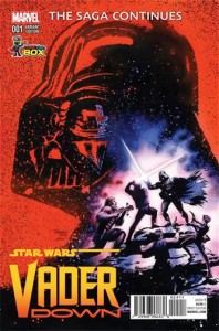 Star Wars 1 Darth Vader Variant Comic Cover