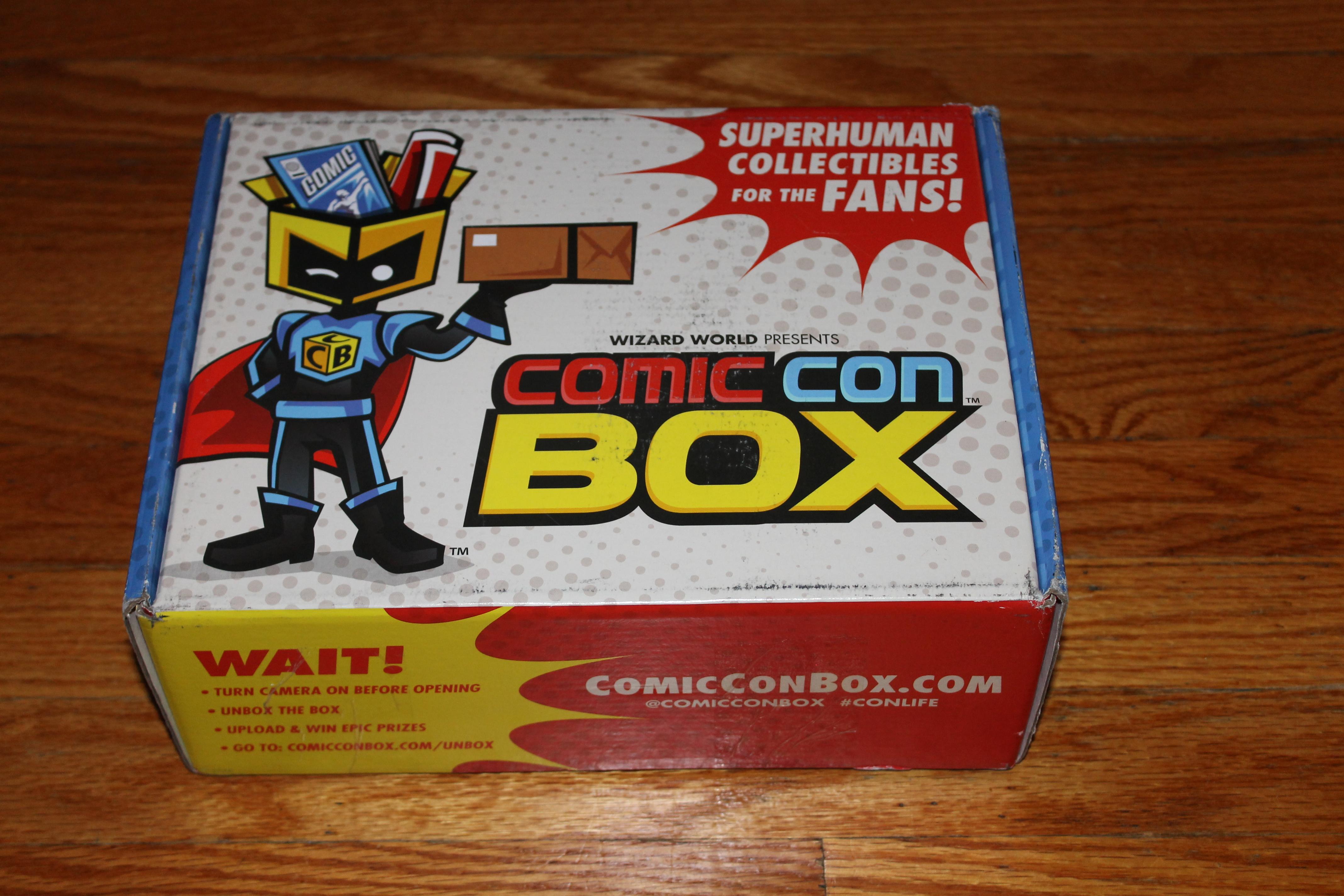 Wizard World ComicConBox Unveiling (2)