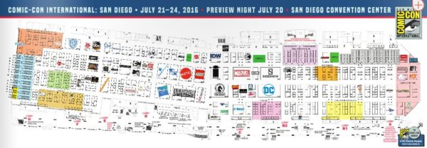 2016 SDCC Exhibitor List