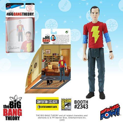 2016 SDCC The Big Bang Theory Sheldon in Shazam T-Shirt Action Figure