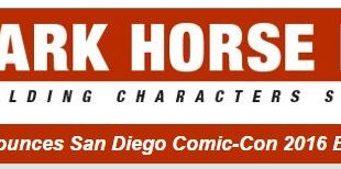 Dark Horse 2016 SDCC Exclusives