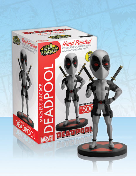 MARVEL - HEAD KNOCKER - DEADPOOL (X-FORCE) - SDCC 2016 EXCLUSIVE