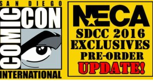 NECA 2016 SDCC Comic Con Exclusives